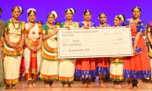 ശ്രീ സ്കൂള് ഓഫ് ഡാന്സ് വിദ്യാര്ഥികള് സാന്ത്വനത്തിനു 15,000 ഡോളര് സംഭാവന നല്കി
