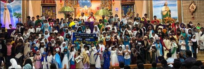 ചിക്കാഗോ സെന്റ് മേരീസില് സകല വിശുദ്ധരുടെയും തിരുനാള് ആചരിച്ചു
